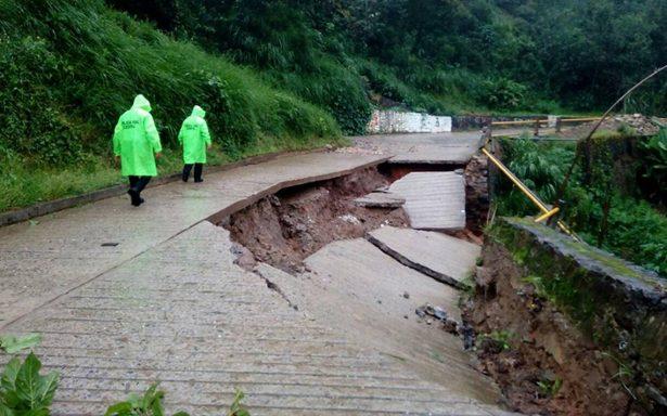 Golpe de 'Ramón' en Oaxaca deja severos daños y cortes vialidades