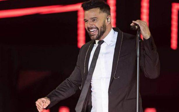 Me encanta mi vida, no la cambio por nada: Ricky Martin