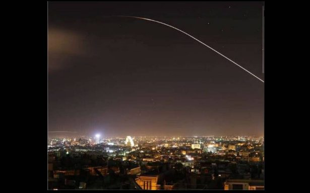 [Videos] Inmediatas explosiones en Damasco tras anuncio de Trump