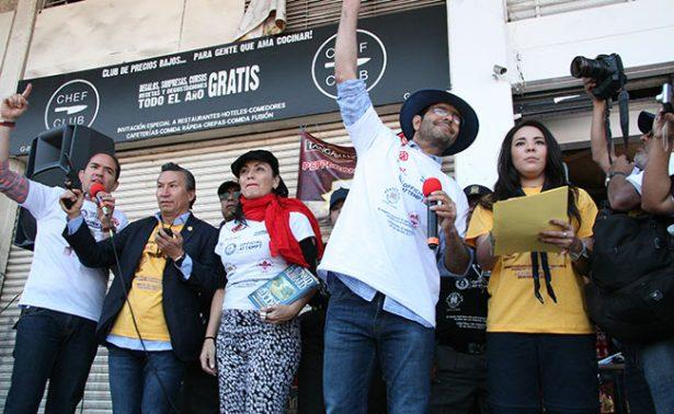 Encabeza Pablo Montero acto ambientalista