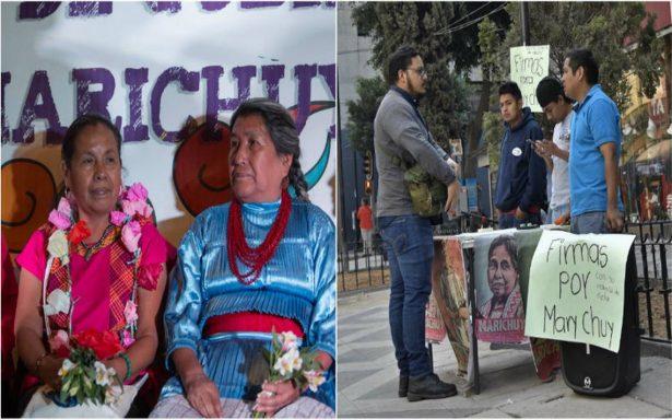 Tierra y justicia, demandas de indígenas; Marichuy continúa sumando apoyo