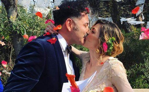 Irene Azuela anuncia que se casó con el bajista de Café Tacvba