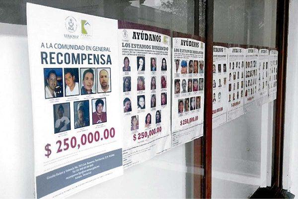 Intensifican investigación sobre los desaparecidos