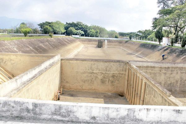 En abril bajará caudal de agua hasta un 40%