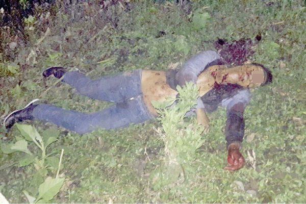Identifican a baleado en Calaquioco