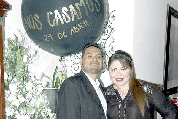 Iván Wolff y Mayra Arenas