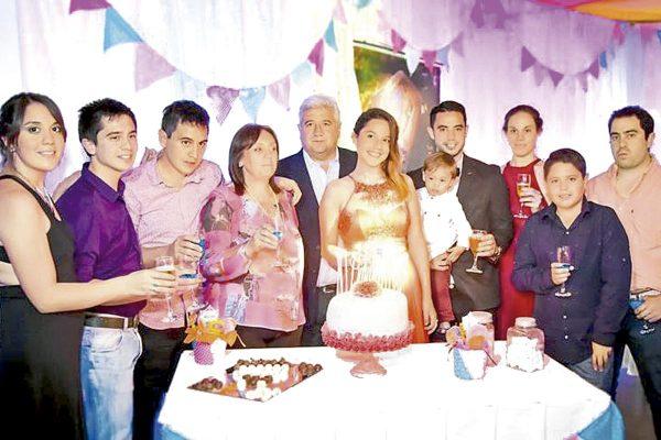 Liliana tuvo fantástica fiesta de cumple