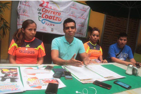 Anuncian la carrera de Coatza, 5, 10 y 21K