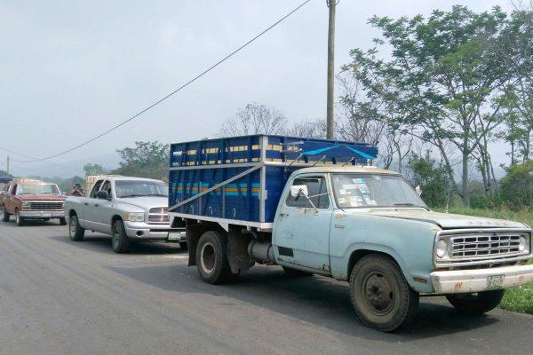 Decomisa Sedena  y PF 8 camionetas