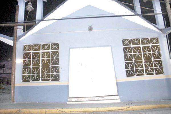 Saquean capilla de La Merced