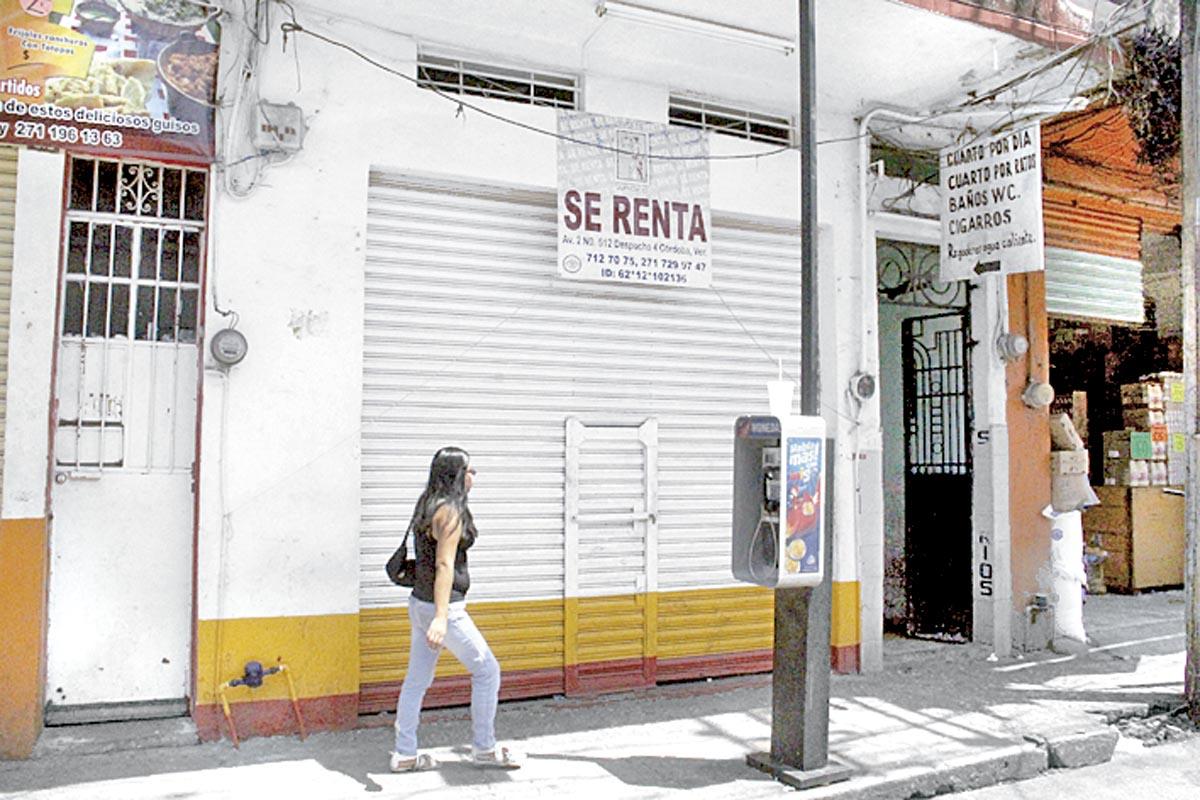 Quiebran negocios del centro no da para rentas for Sol del centro