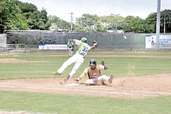 Los Mangos vs El Olivo, beisbol  de veteranos
