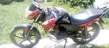 Aseguran motocicletas irregulares en operativo