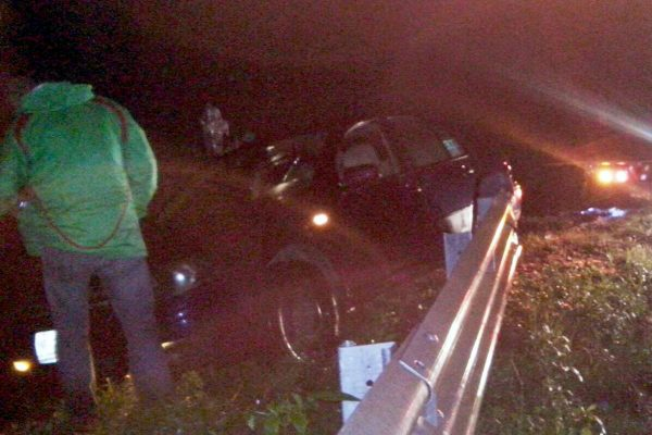 Se accidenta oficial mayor de Ciudad Mendoza