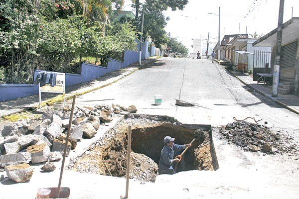 Incrementa riesgo de socavones en la ciudad