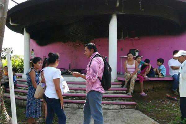 Incendian capilla en Villa Libertad