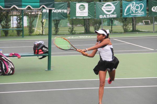 Concluyó el nacional de tenis Serie 1000