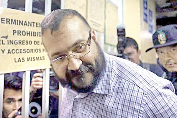 Javier Duarte, en huelga de hambre