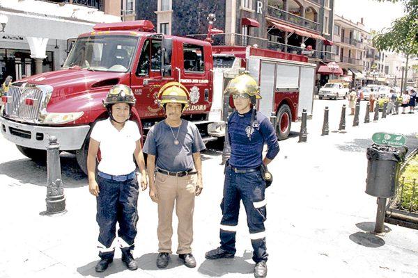 Pese a todo, ser bombero