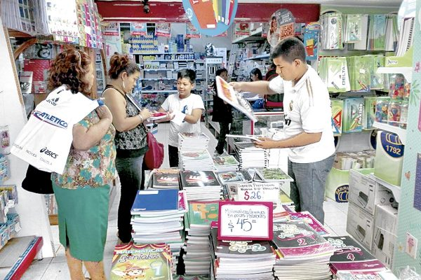 Canaco espera repunte de ventas con regreso a clases
