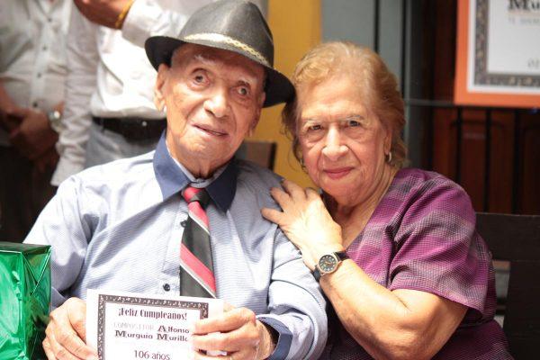 Alfonso Murguía cumplió 106 años