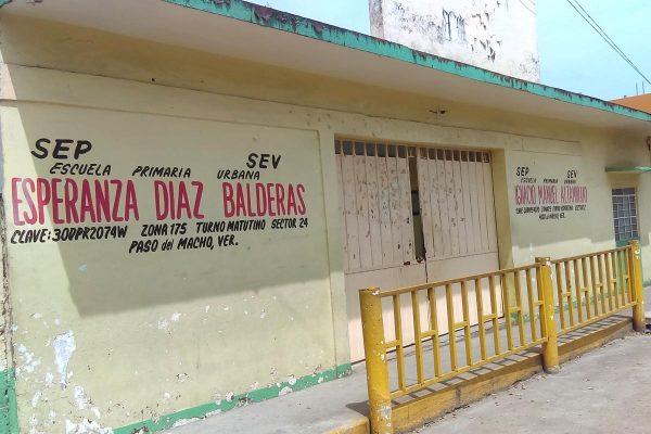 Tomarán primaria Díaz Balderas