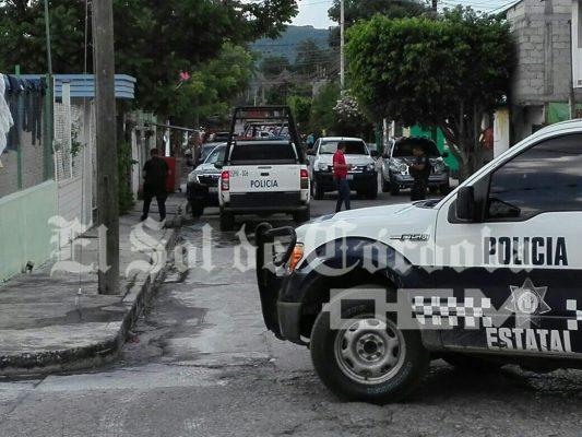 Atentado: dos muertos y un lesionado, en Cuitláhuac
