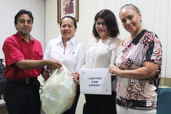 """""""Tapitas con causa"""", para apoyar a menores con cáncer"""