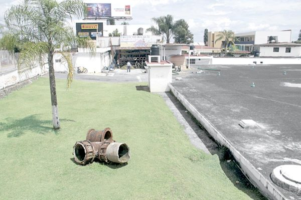 Sismo dañó tanque de Hidrosistema