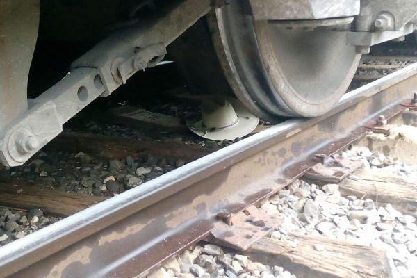 Muere adulto  mayor arrollado  por el tren
