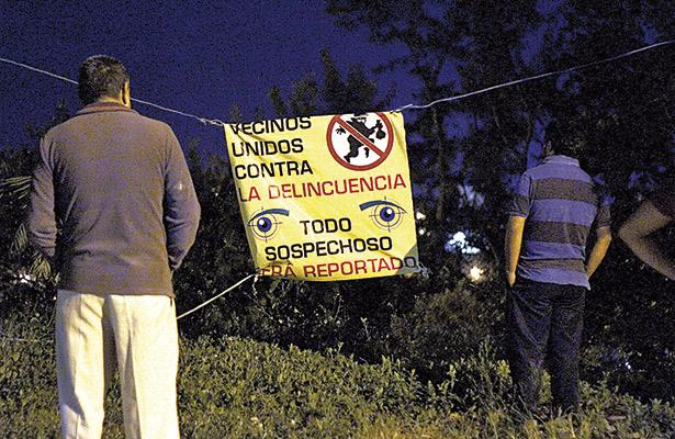 Ante inseguridad ciudadanos se ven obligados a organizarse: psicóloga