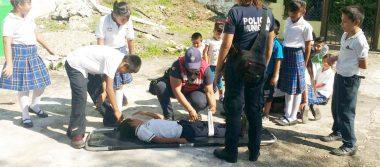 Presentan daños dos escuelas de Atoyac