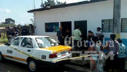Encuentran muerto a taxista