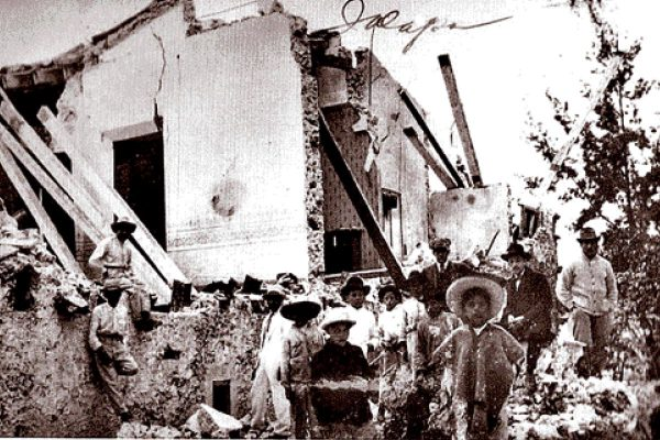 Orizaba y Xalapa, dañadas por históricos terremotos