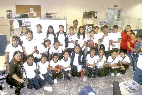 """Alumnos de la escuela """"México"""" visitaron El Sol de Córdoba"""