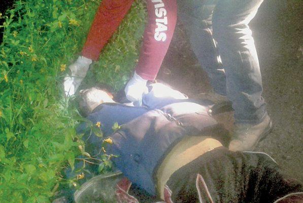 Atropellado y muerto en Cosco