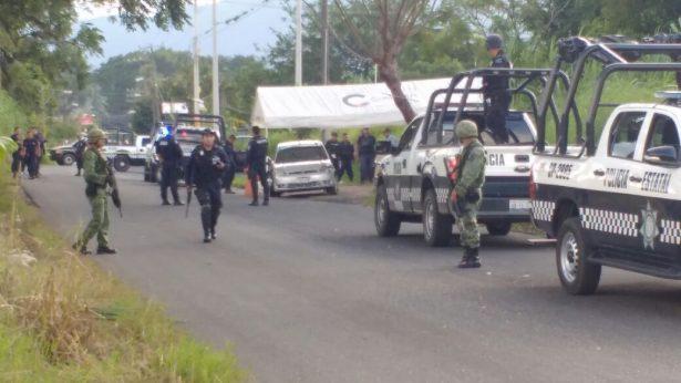 Baleados en retén de Policía, habrían capturado a agresores