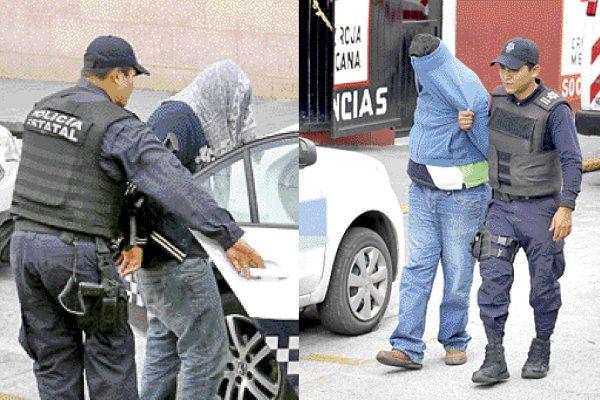 Declaran detenidos  por robo a Autozone