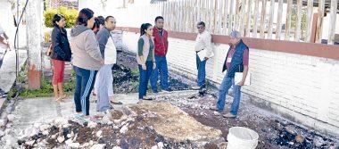 Evalúan las escuelas dañadas por sismos