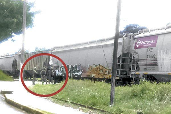 Frustran atraco a tren en Río Seco