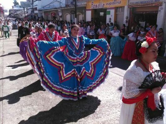 Conmemora Huatusco aniversario de la Revolución Mexicana