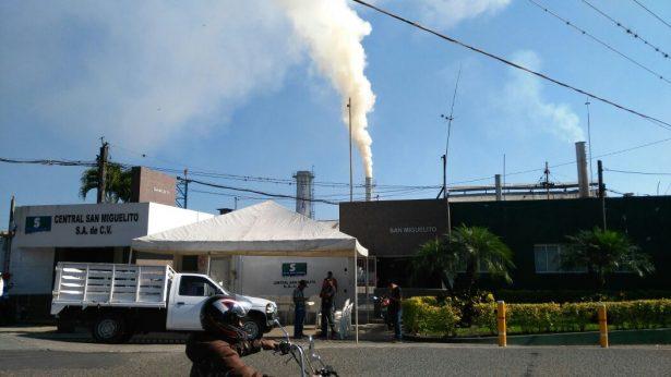 Productores de la CNC toman el ingenio San Miguelito