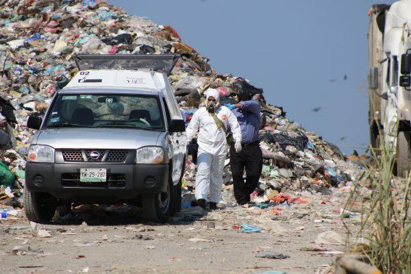 Empleado de Limpia Pública de Córdoba murió triturado en el basurero de Cuitláhuac
