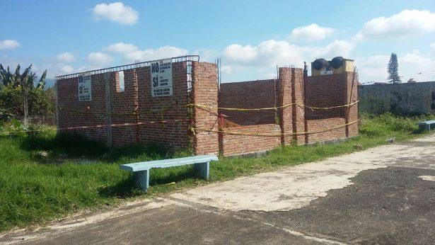 Ganan vecinos del Rincón de Bosque, cancelan obra de la jefatura sector 11