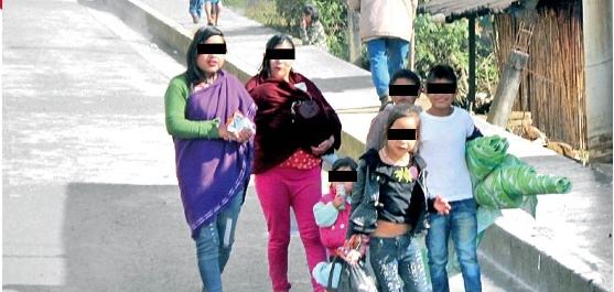 Familias en Xocotla tienen hasta 10 integrantes