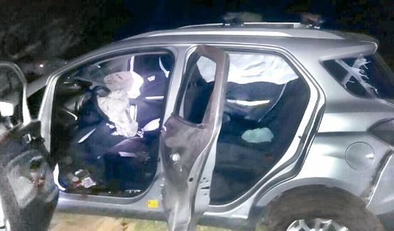 Policía Estatal abate a 4 y asegura 13 vehículos; era una banda de Oaxaca