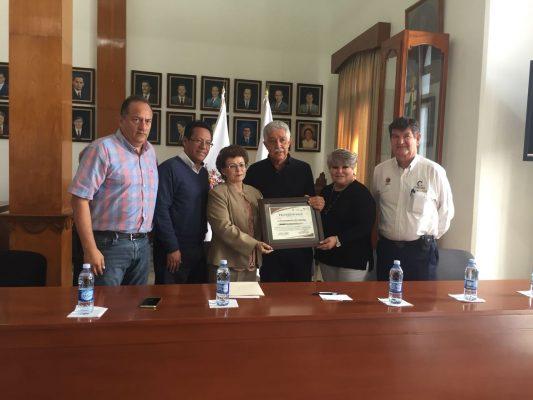 Cordoba recibe reconocimiento de Secretaría del Trabajo