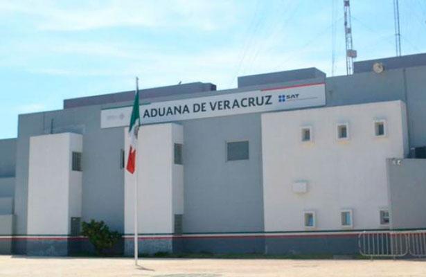 En llantas quisieron meter, por el puerto de Veracruz, 452 kilos de cocaína