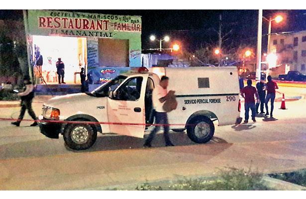 2 ejecutados en el sur; uno fue asesinado a tiros dentro de un bar