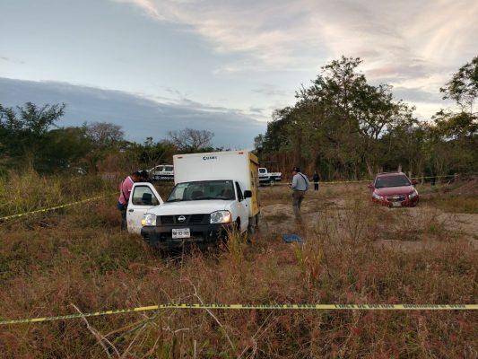 Pasearon el cadáver de chofer asesinado en atraco